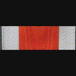 INCONNU : Ce ruban de Grand Officier de couleur orange et argenté