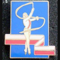 Pin's sportif : pin's de gymnastique rythmique de fabrication CITIME
