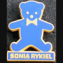 Pin's Mode : pin's de Sonia Rykiel de fabrication Tosca