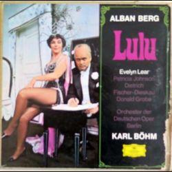 DISQUE 33T : Coffret de 3 disques vinyles 33 tours Lulu de Alban Berg avec l'Orchestre de Berlin par Karl Böhm