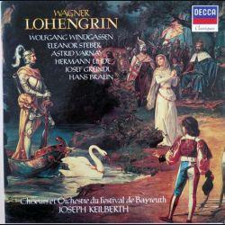 DISQUE 33T : Coffret de 5 disques vinyles 33 tours Lohengrin de Wagner direction Joseph Keilberth