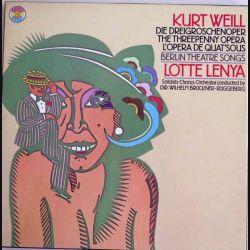 L'opéra de quatre sous de Kurt Weill avec Lotte Lenya