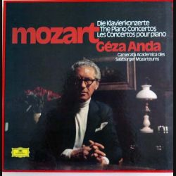Les concertos pour piano de Mozart par Géza Anda