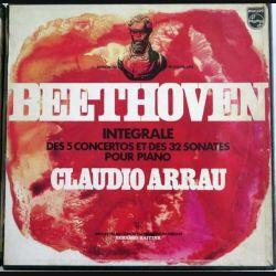 Intégrale des 5 concertos et des 32 sonates pour piano de Ludwig Van Beethoven