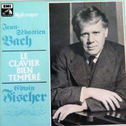 Le Clavier bien tempéré de Jean-Sébastien Bach par Erwin Fischer éditions EMI La Voix de son Maître