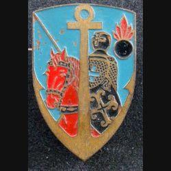 GACML : insigne métallique du groupe d'artillerie coloniale de montagne du Levant de fabrication artisanale épingle ressoudée
