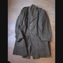 SANTE : manteau du service de santé des années 1946 / 1947 ayant appartenu au Médecin Colonel Bonnet