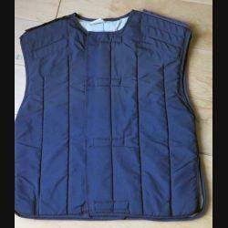 MILITARIA : sous veste matelassée de police à scratch de taille S