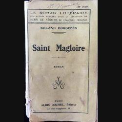 1. Saint Magloire de Roland Dorgeles aux éditions Albin Michel