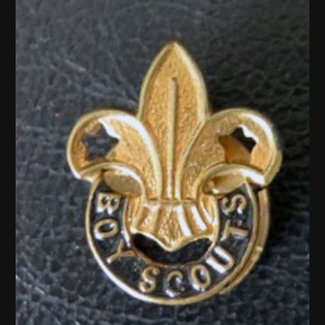 Insigne de boutonnière des Boys scouts de 2,1 x 1,7 cm en métal