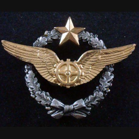 BREVET AIR : insigne métallique de brevet