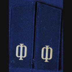 MILITARIA : paire d'épaulette de matelot de la marine russe
