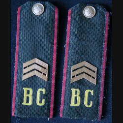 MILITARIA : paire d'épaulette de sergent chef de l'armée russe