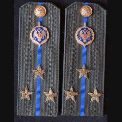 MILITARIA : paire d'épaulette de 1° lieutenant du service de sécurité de l'Etat russe