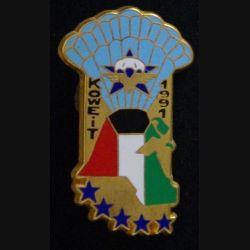 1° RCP : CRAP du 1° régiment de chasseurs parachutistes opération Daguet Koweit 1991  Ballard