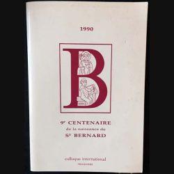 1. 9e centenaire de la naissance de St Bernard 1990