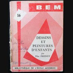 1. Dessins et peintures d'enfants de Elise Freinet aux éditions de l'école moderne française