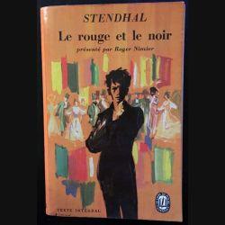 1. Le rouge et le noir de Stendhal aux éditions Gallimard