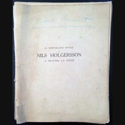 Le merveilleux voyage de Nils Holgersson à travers la Suède de Selma Lagerlöf aux éditions Librairie Delagrave 1941