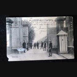 CARTE POSTALE GUERRE 1914-1918  :  (39) Limoges Caserne du 10°