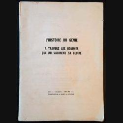 1. L'histoire du génie à travers les hommes qui lui valurent sa gloire par le colonel Roche