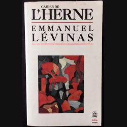 1. Cahier de l'herne de Emmanuel Lévinas aux éditions de L'herne 1991