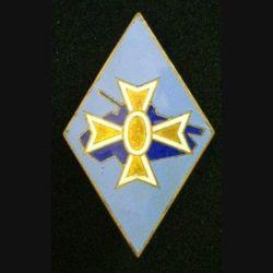 1° DB : insigne métallique de la 1° division blindée de fabrication Arthus Bertrand Paris H. 107