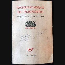 1. Logique et morale du diagnostic de Jean-Charles Sournia aux éditions Gallimard