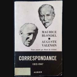 1. Correspondance 1912-1947 Tome III de Maurice Blondel et Auguste Valensin aux éditions Aubier (C28)