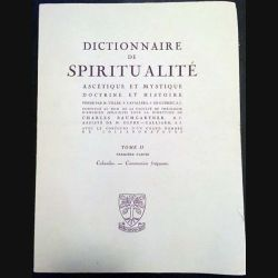 1. Dictionnaire de spiritualité ascétique et mystique Doctrine et Histoire Tome II Cabasilas-Communion fréquente