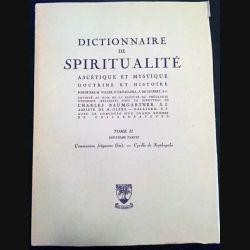 1. Dictionnaire de spiritualité ascétique et mystique Doctrine et Histoire Tome II