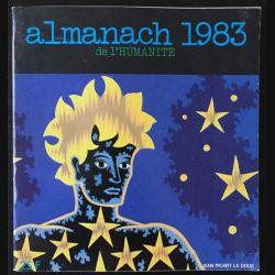 1. Almanach 1983 de l'humanité de Jean Picart le Doux