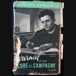 1. Journal d'un curé de campagne de Georges Bernanos aux éditions Plon 1951