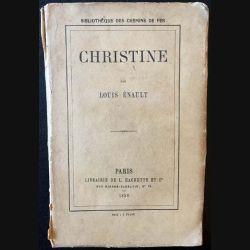 1. Christine de Louis Énault aux éditions librairie de L. Hachette et Cie 1858