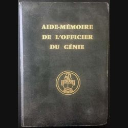 1. Aide mémoire de l'officier du Génie