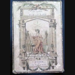 43 Cartes Les musés en minature du Musée du louvre dans sa boite boite du début du 20° siècle