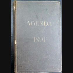Nouvel Agenda administratif de 1891 (C60)