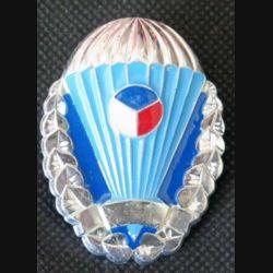 TCHEQUE : insigne parachutiste cinq sauts des forces tchèques 1993 - 2011