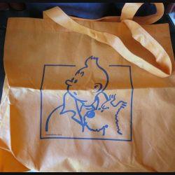 Sac en tissu papier de Tintin et Milou de taille 42 x 49 cm édité par Hergé 2010 (C60)