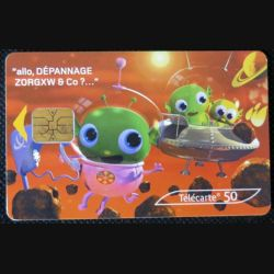 TELECARTE : 200 000 cabines partout en France et bientôt sur Mars ? 50 unités 01/04/2005