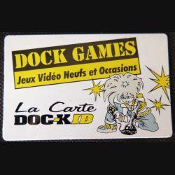 TELECARTE : télécarte Dock Games jeux vidéos neufs et occasion