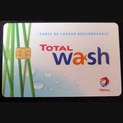 TELECARTE : télécarte Total Wash