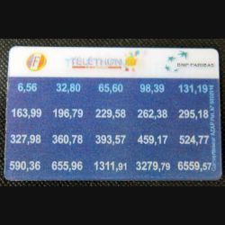 TELECARTE : télécarte La Poste convertisseur Francs / Euros 2002
