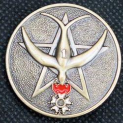 1°RTM : insigne métallique du 1°