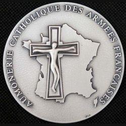 MEDAILLE : médaille de l'aumonerie catholique