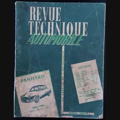 1. Revue technique automobile Panhard tous types
