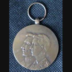 BELGIQUE : médaille commémorative du cinquantenaire de l'armistice 1918-1968