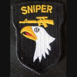 USA : sniper de la 101° Airborne division Classe A US patch