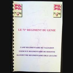 1. Le 71° régiment du génie- Camp régimentaire de Valdahon, exercice régimentaire de Sissonne