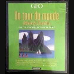 1. Un tour du monde dessiné en 20 posters par les plus grands noms de la BD aux éditions Casterman